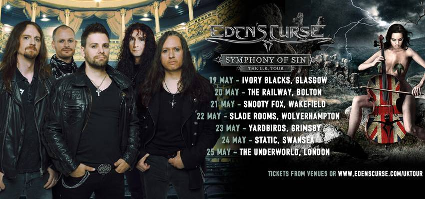 Edens Curse UK Tour