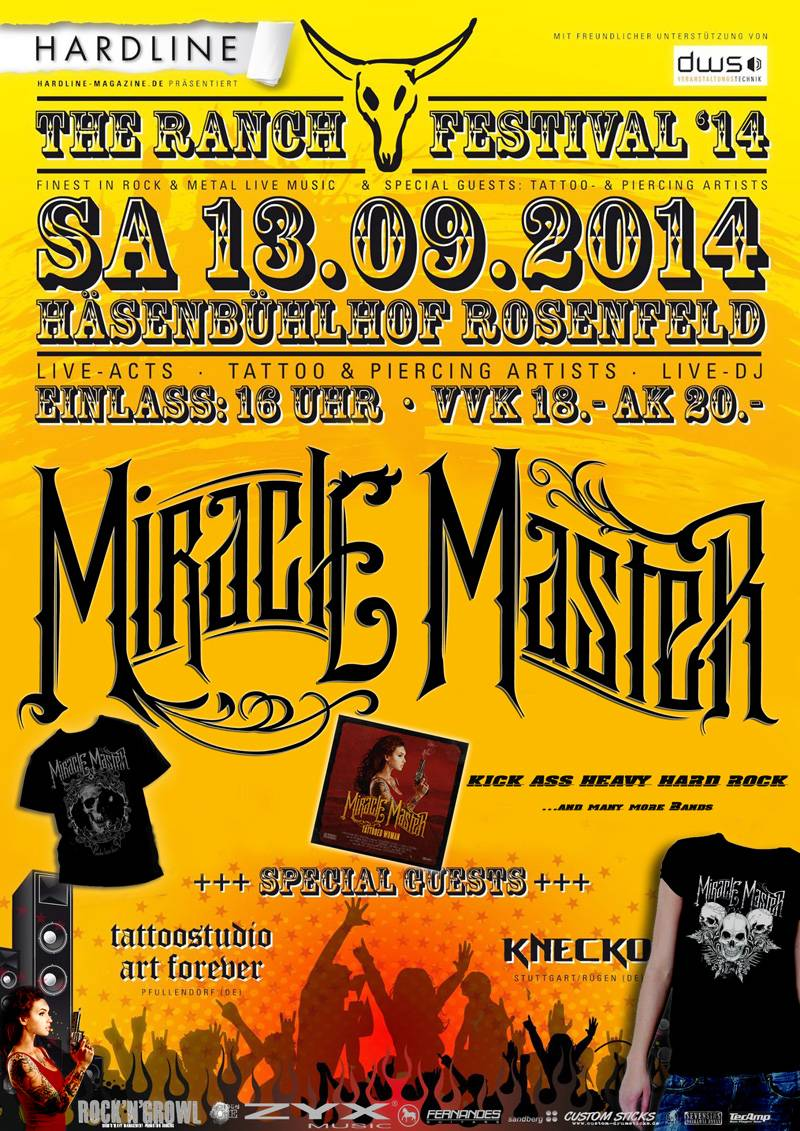 Miracle Master at The Ranch Festival