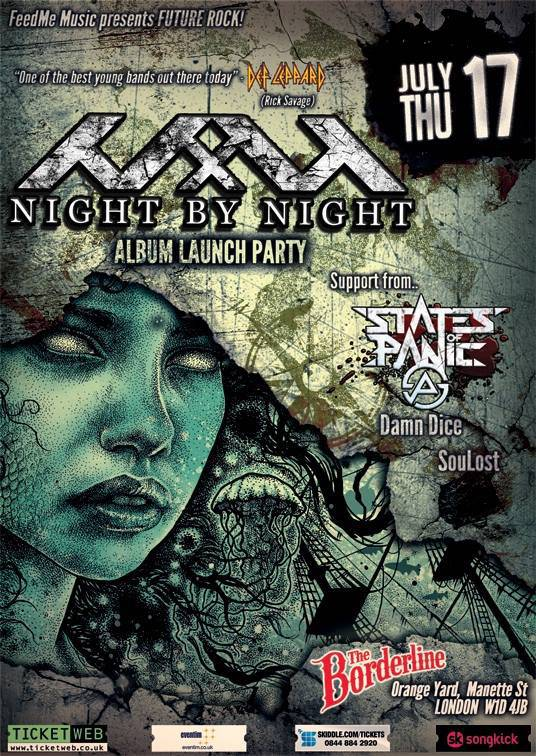 Night by Night Release Party