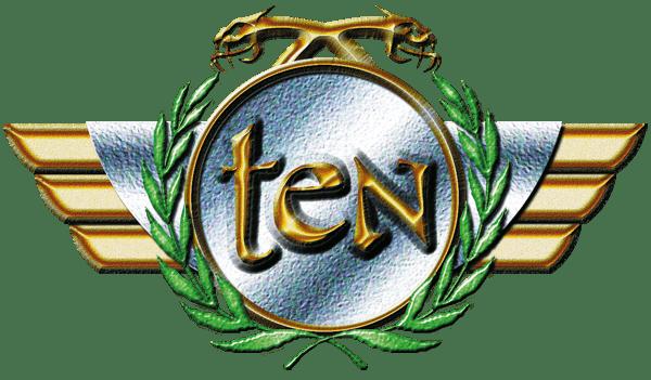 Ten Hard Rock UK Logo