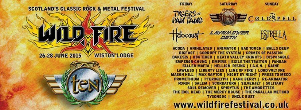 Ten Wildfire Festival
