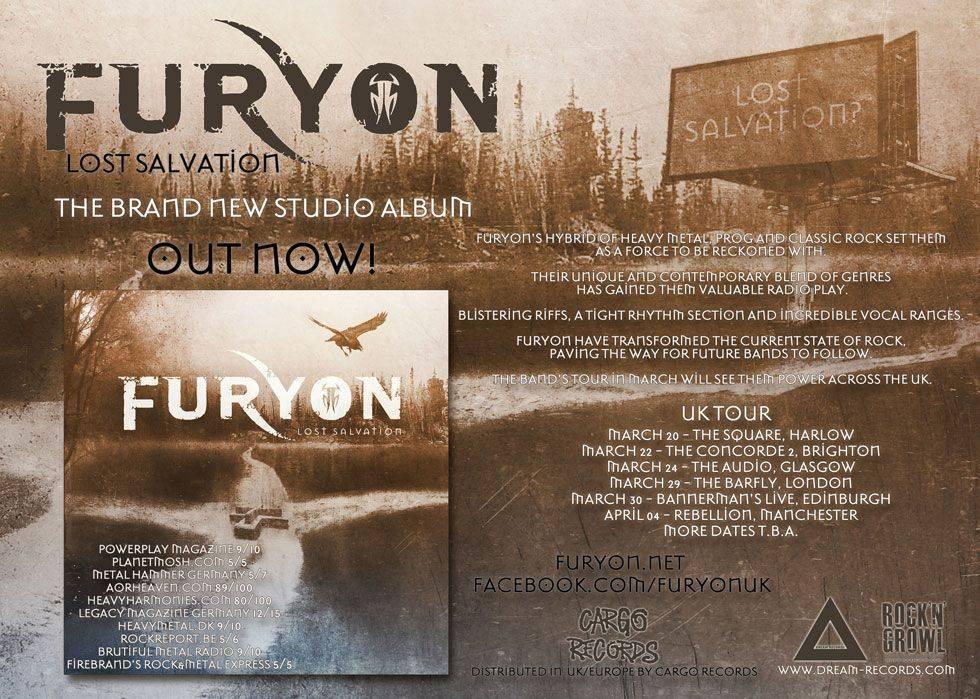 Furyon March Tour 2015