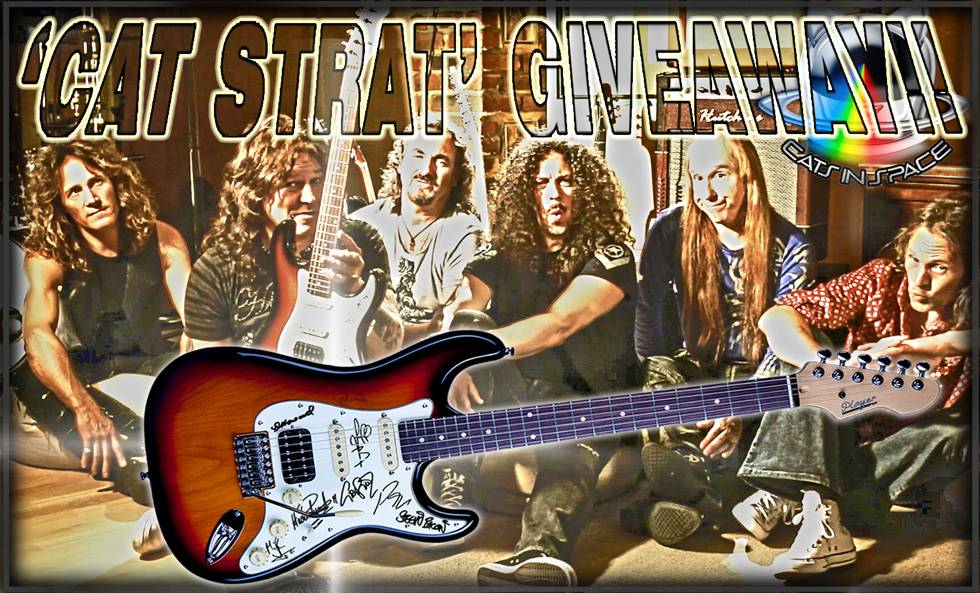 Cats In Space Guitar Giveaway
