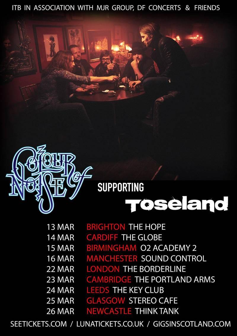 Colour Of Noise Toseland Tour