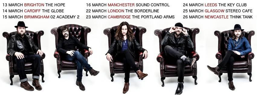 Colour Of Noise Tour March 2016