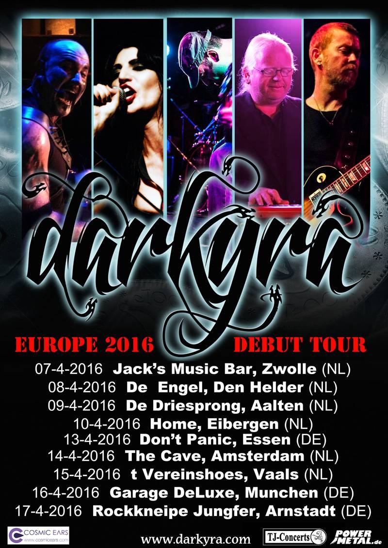 Darkyra European Tour 2016