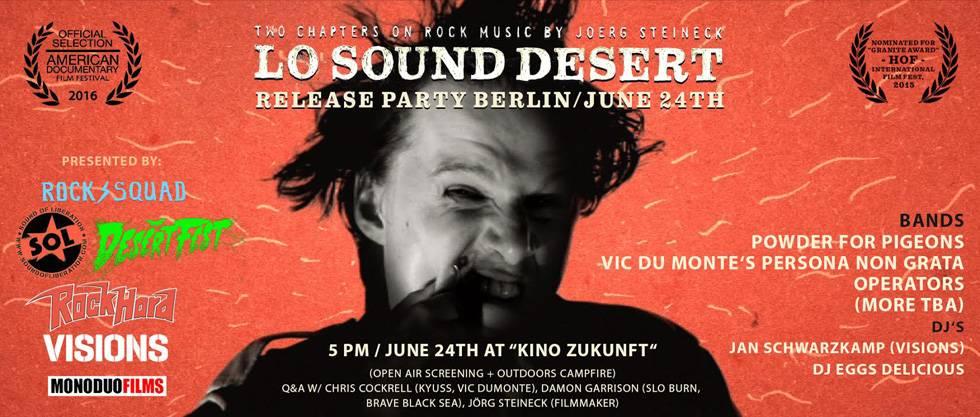 Lo Sound Desert Release Party Berlin