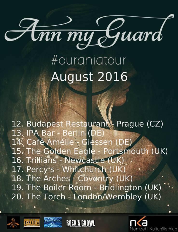 Ann My Guard EU Tour