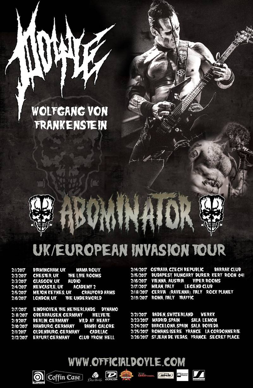 Doyle EU Tour 2017