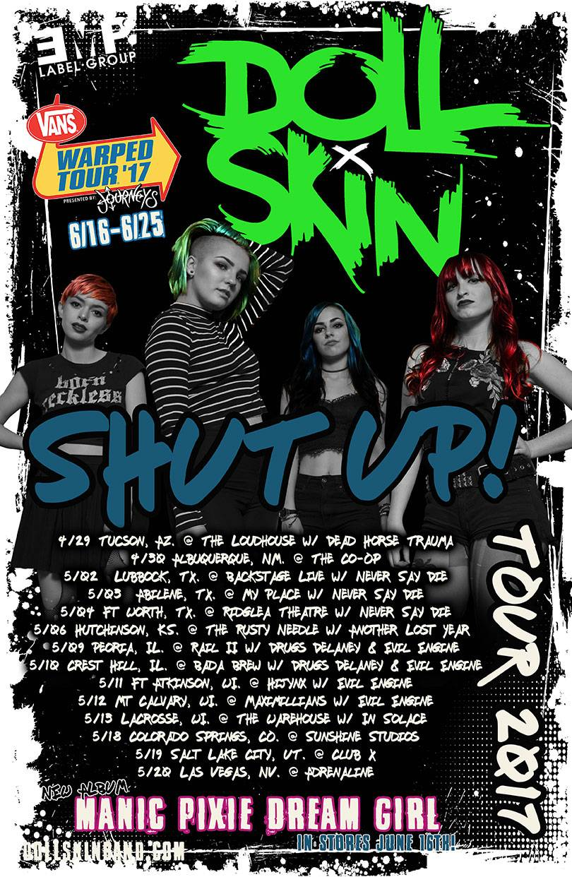 Doll Skin US Tour