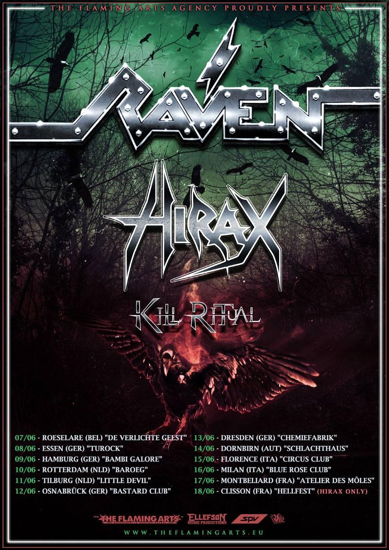 Raven European Tour 2017