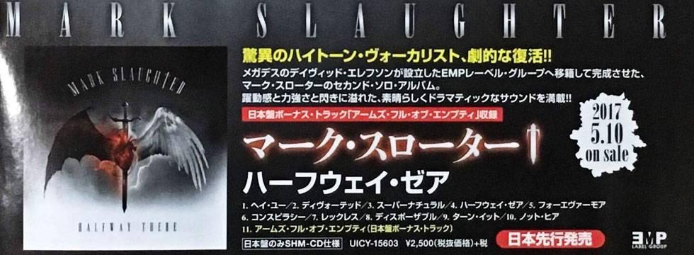 Mark Slaughter Japan