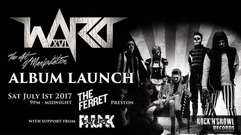 Ward XVI Album Launch