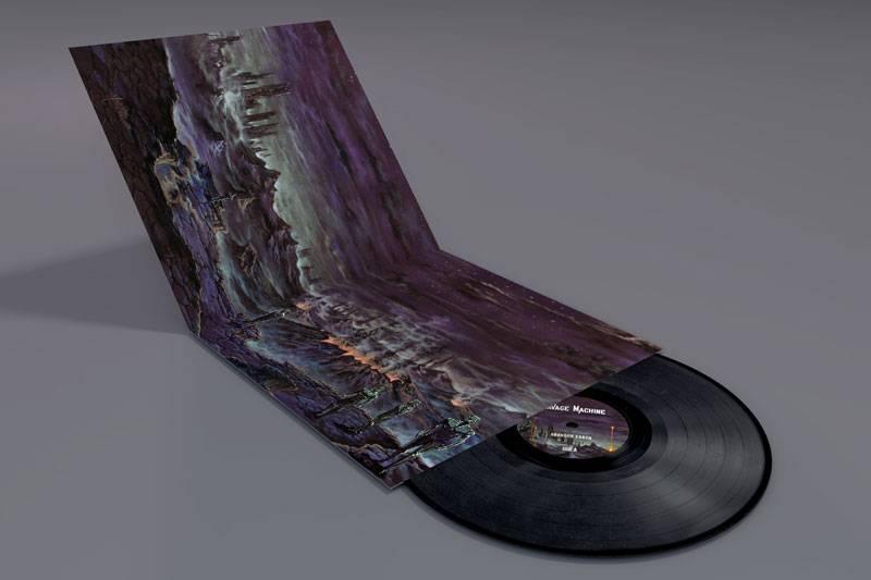 Abandon Earth vinyl