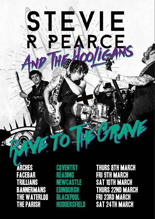 Stevie R Pearce UK Tour