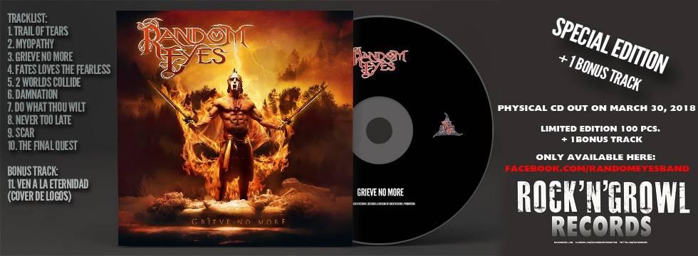 Radom Eyes CD Release