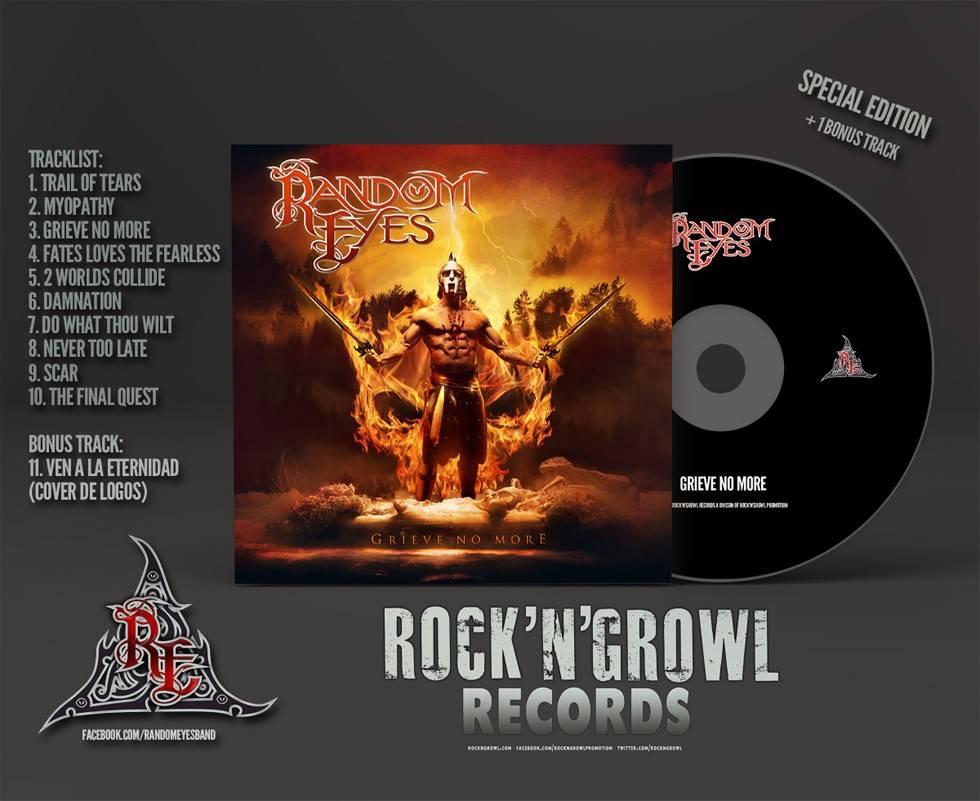 Random Eyes CD Limited Edition