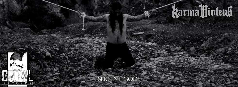 Karma Violens Serpent God Video