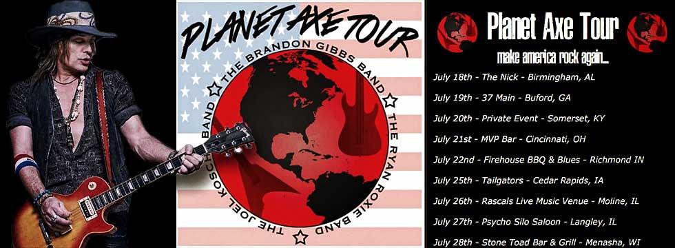 Ryan Roxie US Tour