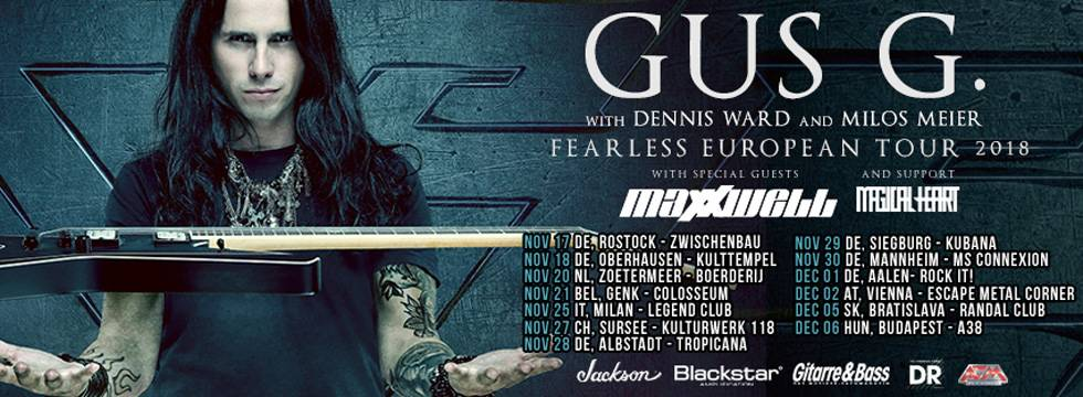Maxxwell Gu sG Tour