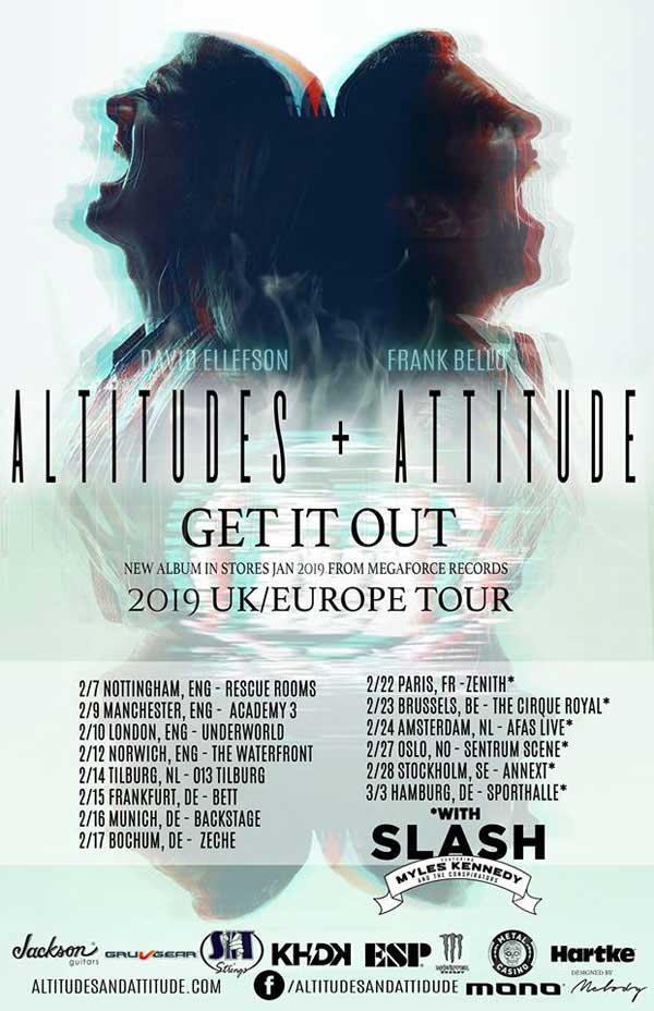 ALTITUDES & ATTITUDE + Slash Tour