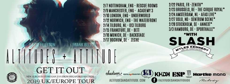 ALTITUDES & ATTITUDE Tour