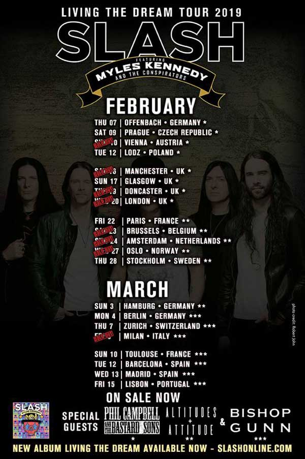 Slash Tour