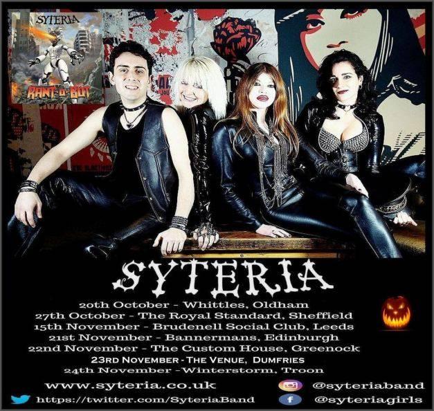 Syteria Live UK