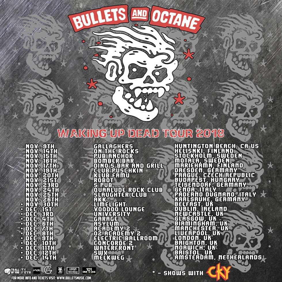 Bullets And Octane European Tour