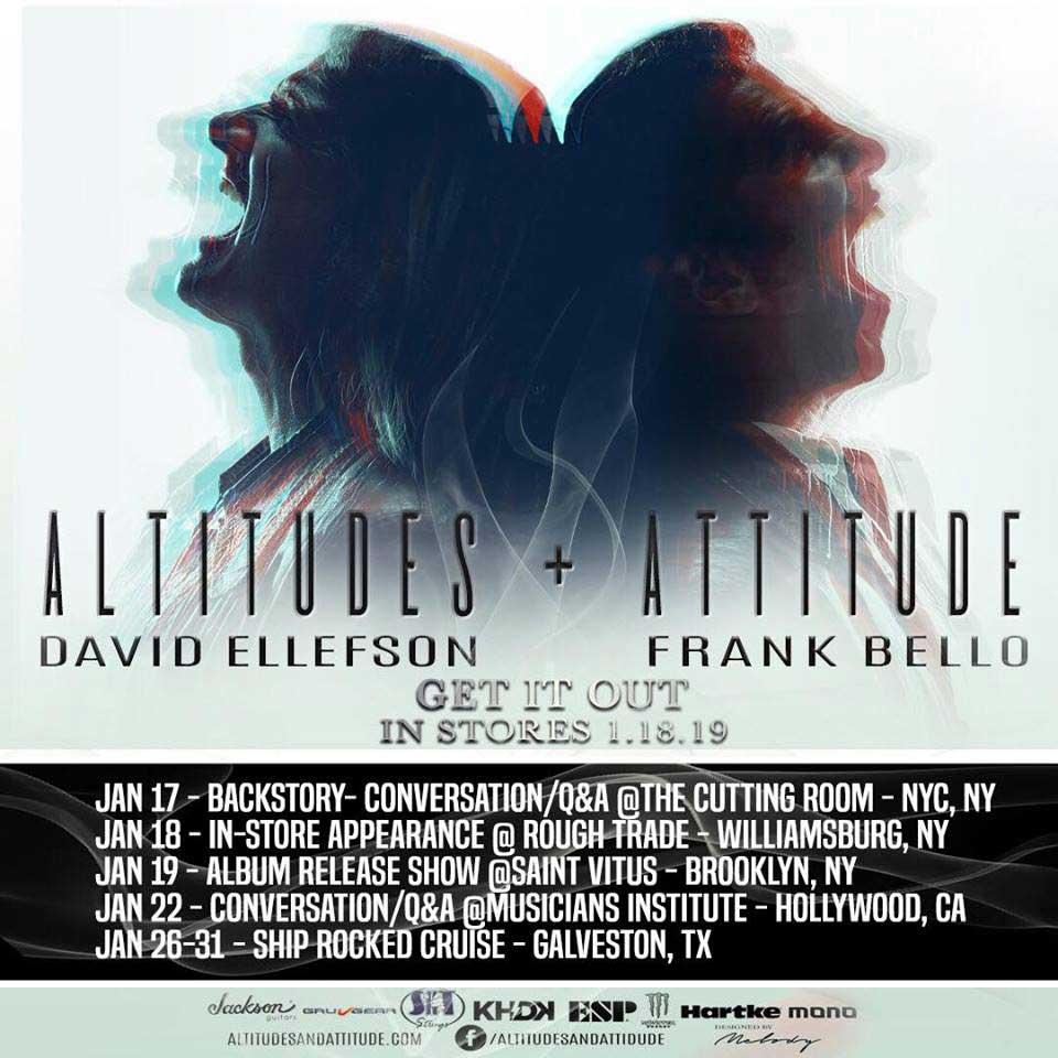Altitudes & Attitude David Ellefson and Frank Bello