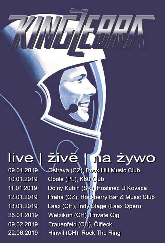 King Zebra Live 2019