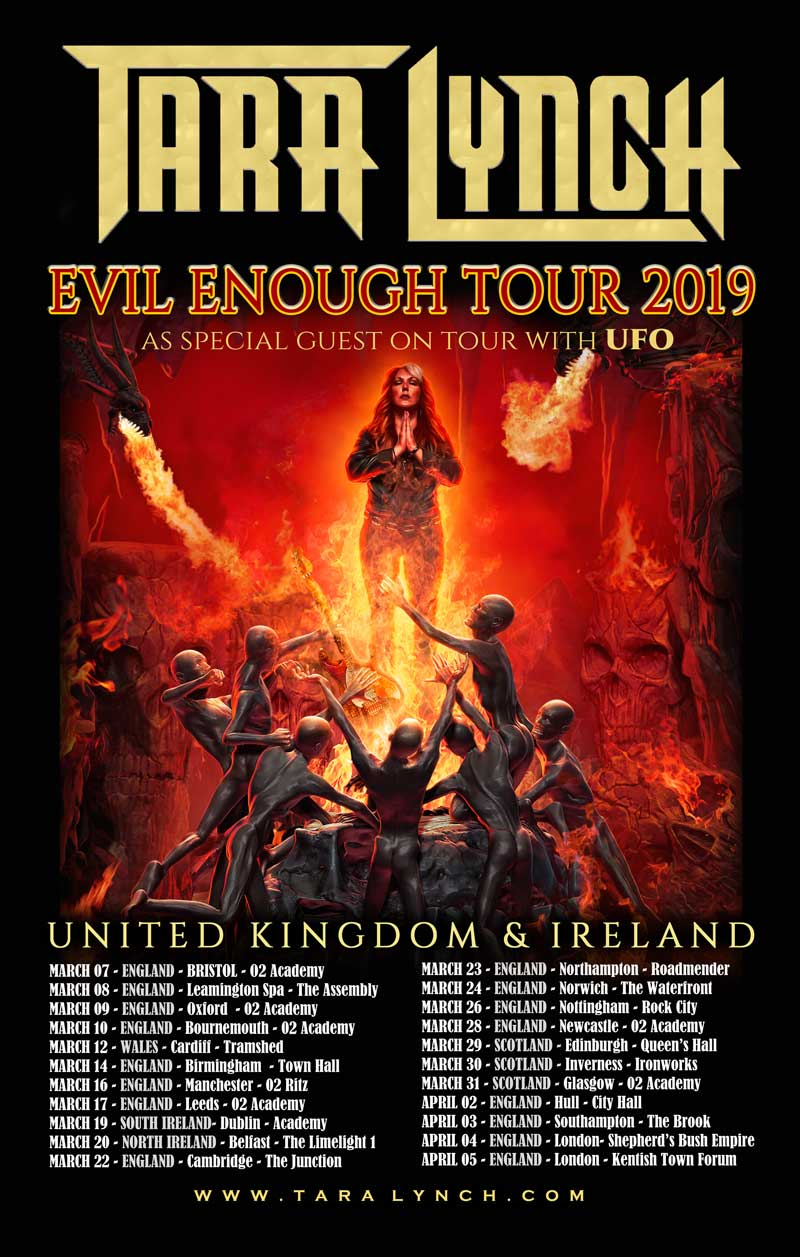 Tara Lynch UK Tour