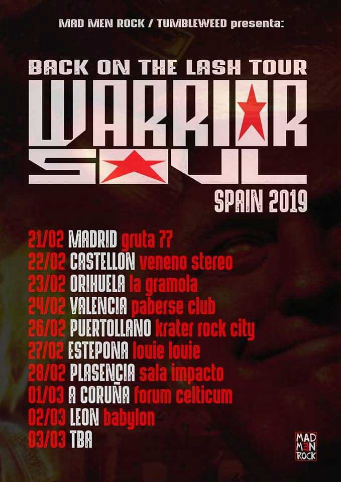 Warrior Soul Live In Spain 2019