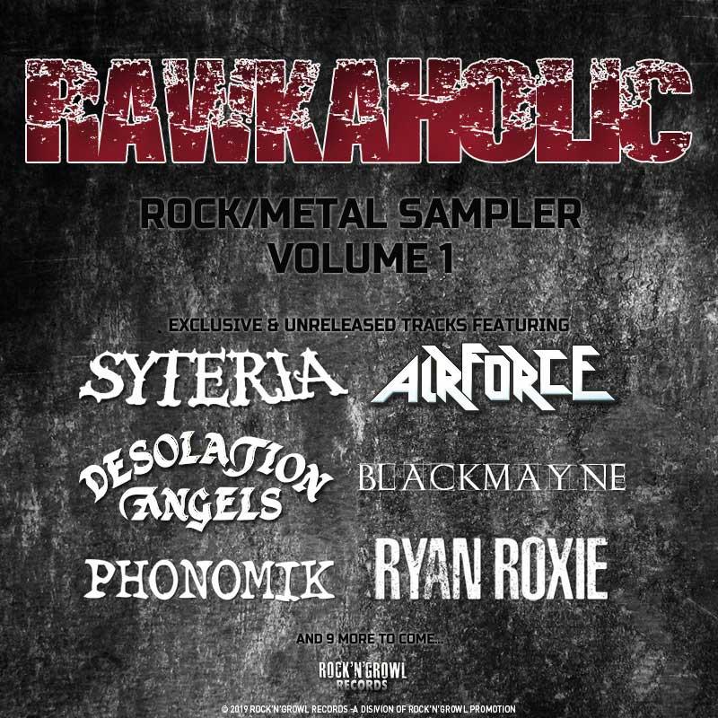 Rawkaholic Volume1 Bands