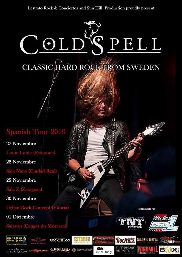 ColdSpell Spain 2019