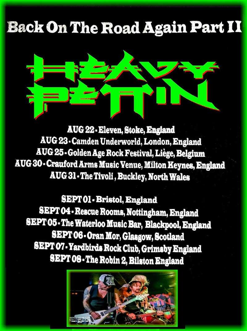 Heavy Pettin Live 2019