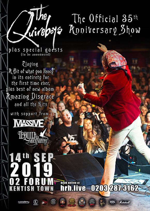 The Quireboys 35th Anniversary Show