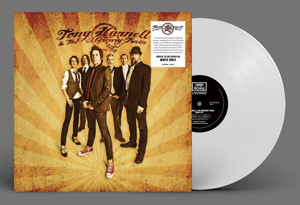 Tony Harnell White Vinyl