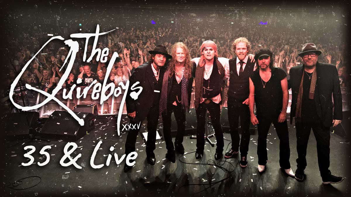 Quireboys 35 Live