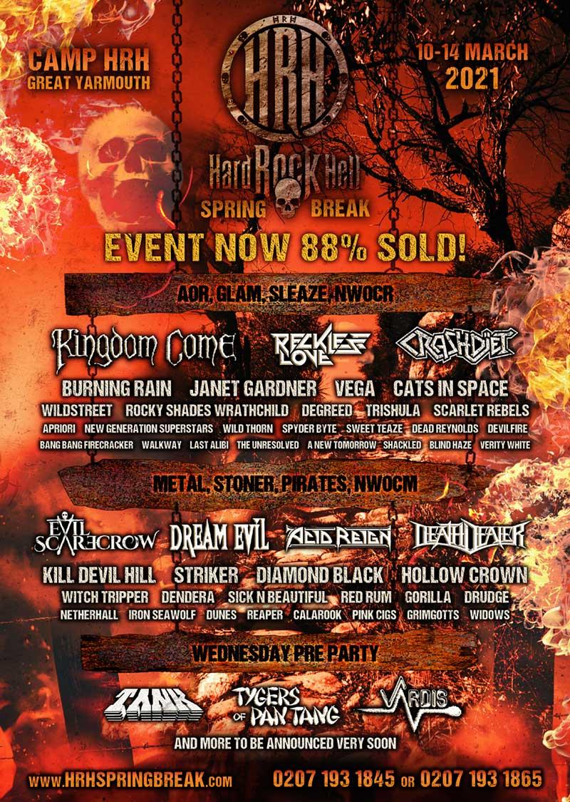 Hard Rock Hell Spring Break