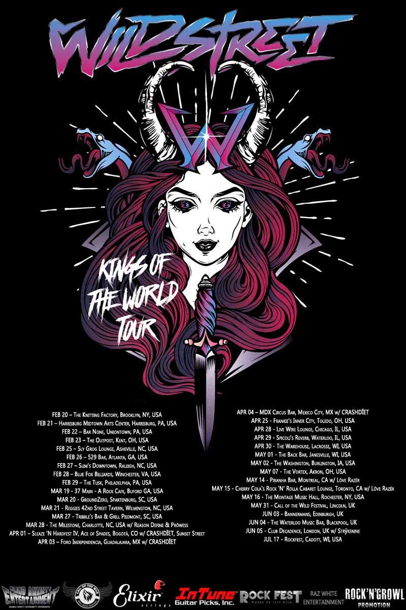 Wildstreet Tour 2020