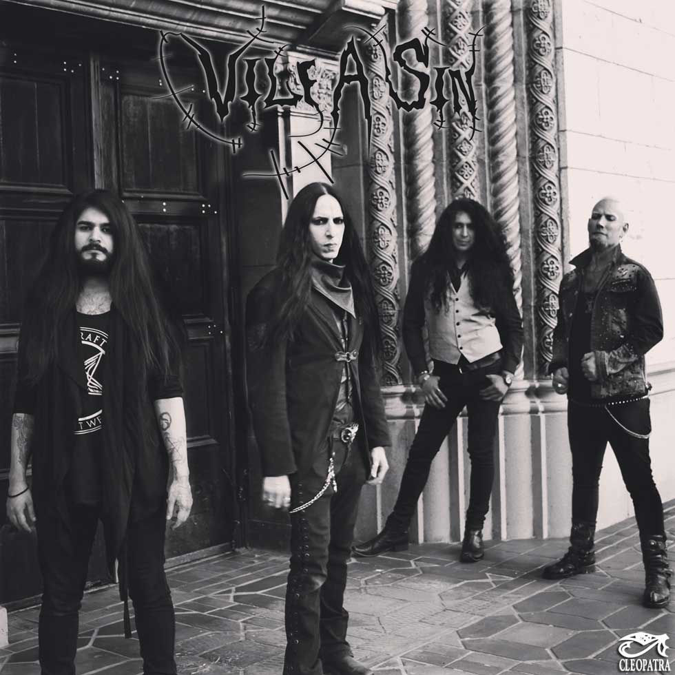 Vile A Sin Band Pic