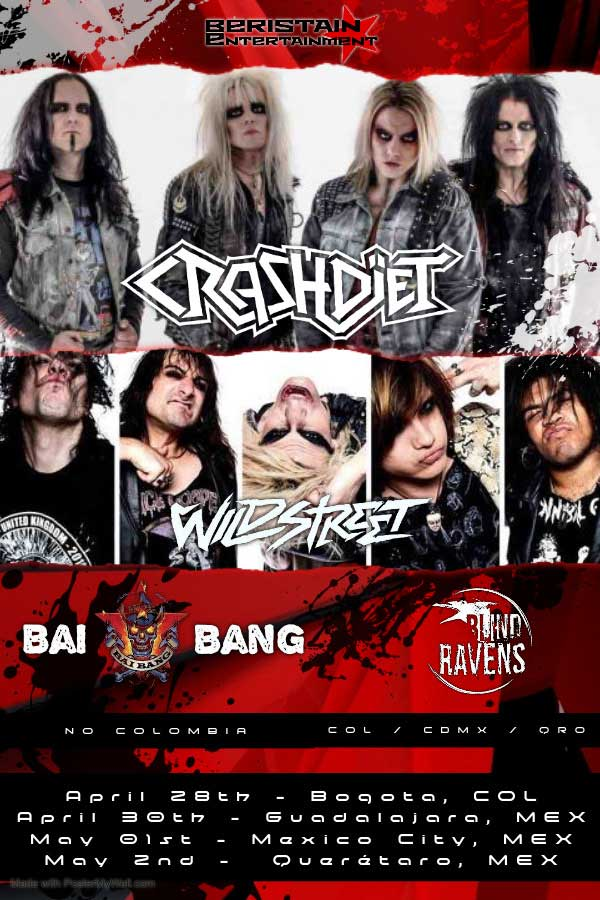 Wildstreet South America Tour