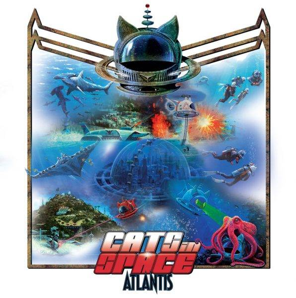 Cats In Space Atlantis