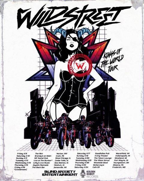 Wildstreet US Tour 2021