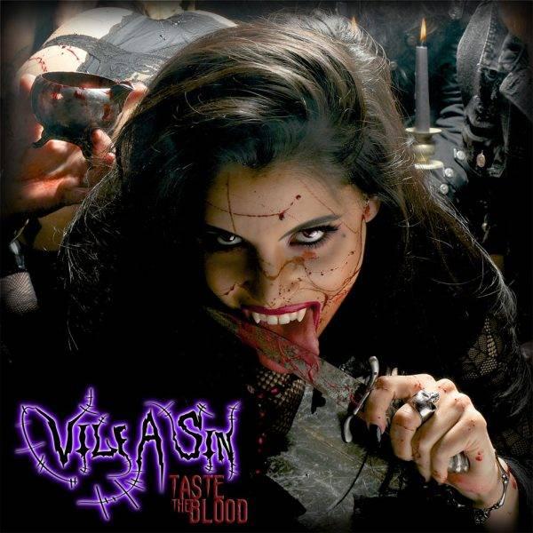 Vile A Sin Taste The Blood