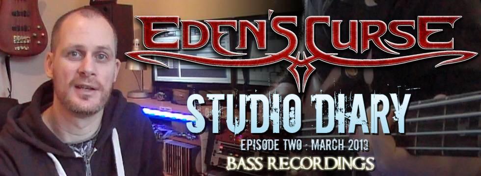 Eden's Curse Second Studio Diary Video